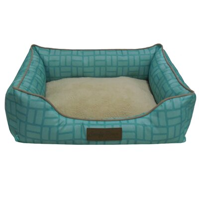 Comfy Pooch Bed Size: Large (28 L x 20 W), Color: Spa Blue