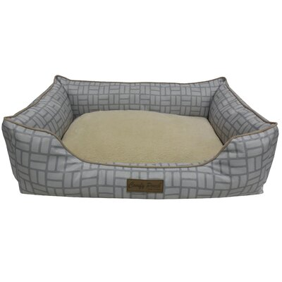 Comfy Pooch Bed Size: Large (28 L x 20 W), Color: Gray