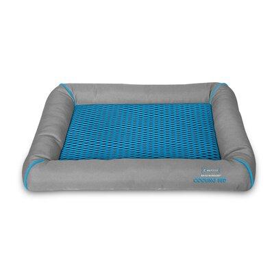 Comfy Pooch Cooling Mesh Bed Size: Large (47 L x 31.5 W), Color: Royal Blue