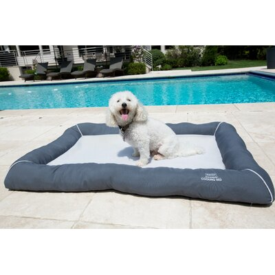 Comfy Pooch Cooling Mesh Bed Size: Large (47 L x 31.5 W), Color: Gray