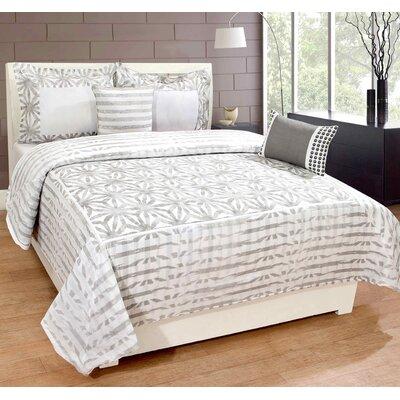 Daniels 100% Cotton 3 Piece Duvet Set Size: King