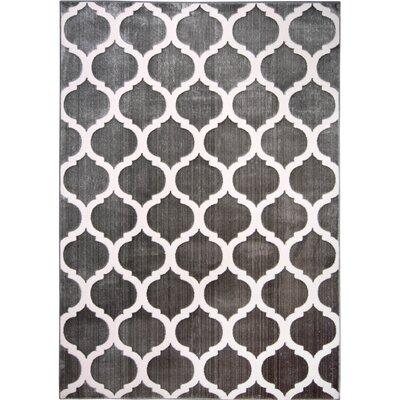 Bunbury Gray/Ivory Area Rug Rug Size: 710 X 102
