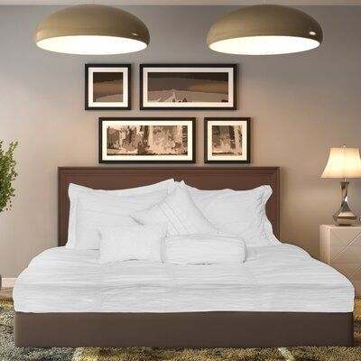 Hodge 3 Piece Duvet Set Size: Queen, Color: White