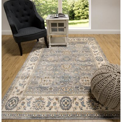 Itasca Traditional Gray Area Rug Rug Size: 311 X 511