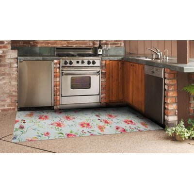 Angelique Floral Indoor/Outdoor Area Rug Rug Size: 112 x 411