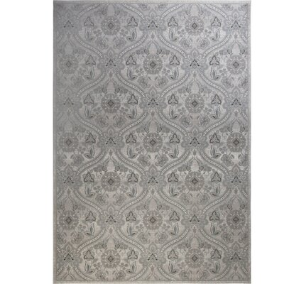 Kayo Damask Ivory Area Rug Rug Size: Rectangle 31 x 47
