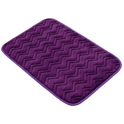 Fergerson Chevron Bath Rug Size: 20 W x 30 D