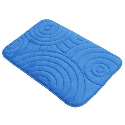 Fergerson Circles Bath Rug Size: 20 W x 30 D