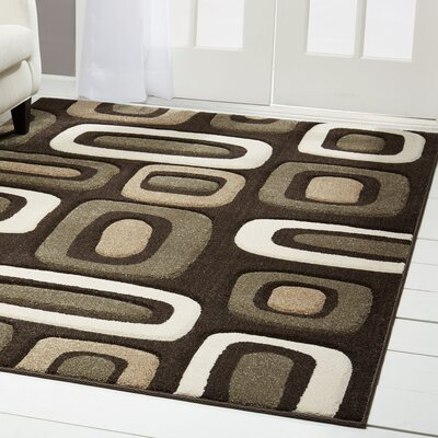 Sumatra Stacks Area Rug Rug Size: Rectangle 28 x 47