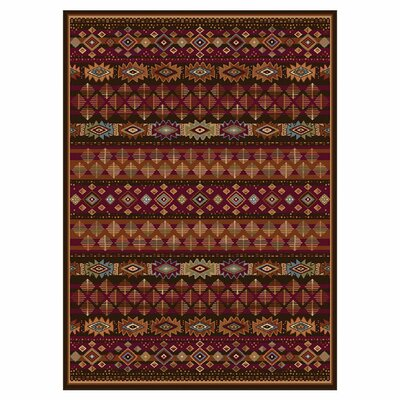 Madlena Brown Area Rug Rug Size: 710 x 102