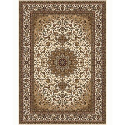 Regency Ivory Area Rug Rug Size: Rectangle 126 x 159