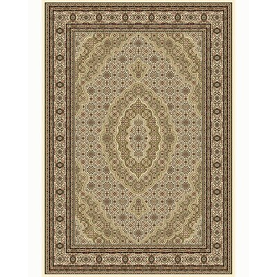 Regency Ivory Area Rug Rug Size: Rectangle 54 x 78