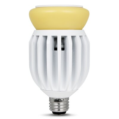 Image of 32W Yellow 120-Volt (2700K) LED Light Bulb
