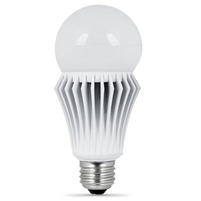 Frosted E26/Medium LED Light Bulb Wattage: 14, Bulb Temperature: 5000K