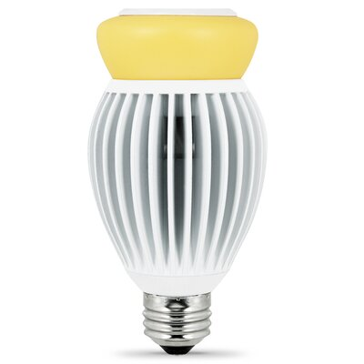 Frosted E26/Medium LED Light Bulb Wattage: 22W, Bulb Temperature: 3000K