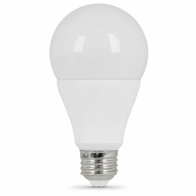 Frosted E26/Medium LED Light Bulb Wattage: 75W, Bulb Temperatrue: 3000K