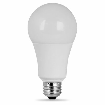 Frosted E26/Medium LED Light Bulb Wattage: 100W, Bulb Temperatrue: 3000K
