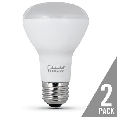 E26 LED Light Bulb Pack of 2 Wattage: 7.5W, Bulb Temperature: 5000K