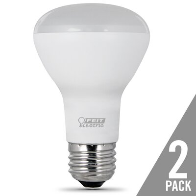 E26 LED Light Bulb Pack of 2 Bulb Temperature: 5000K, Wattage: 6.8W