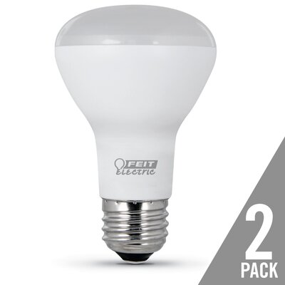 E26 LED Light Bulb Pack of 2 Bulb Temperature: 2700K, Wattage: 7.5W