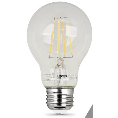 7W E27/Medium LED Light Bulb Pack of 2