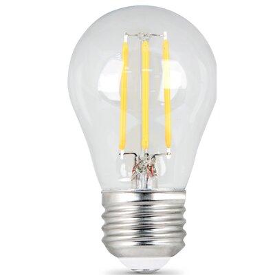4.5W E27/Medium LED Light Bulb Pack of 2