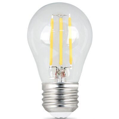6W E27/Medium LED Light Bulb Pack of 2