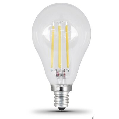60W Clear E12/Candelabra LED Light Bulb