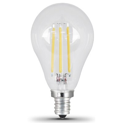 4.5W E12/Candelabra LED Light Bulb Pack of 2