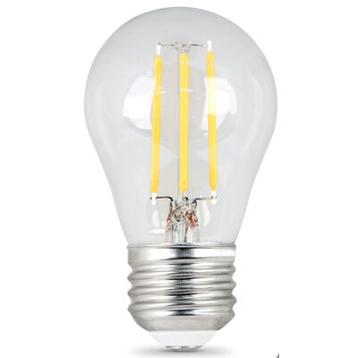 4.5W E27/Medium LED Light Bulb Pack of 2