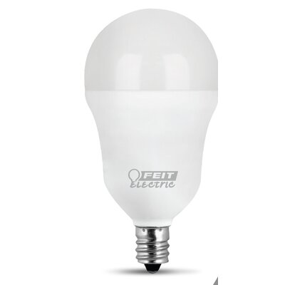 6.5W E12/Candelabra LED Light Bulb Pack of 3