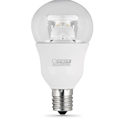 E17/Intermediate LED Light Bulb Wattage: 7.5W