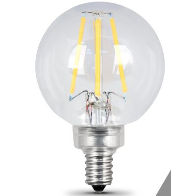 E12 Candelabra LED Light Bulb pack of 2 Wattage: 4.5W