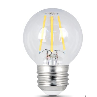 E26 LED Light Bulb pack of 2 Wattage: 4.5W