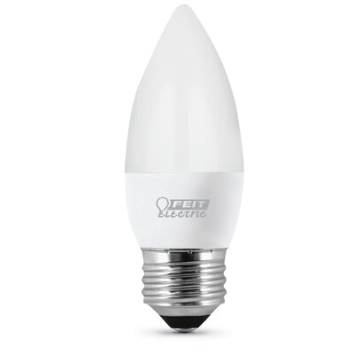 4.5W Frosted Medium LED Light Bulb Pack of 3