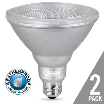 14W E26 LED Light Bulb Pack of 2 PAR38/830/LEDG11/2