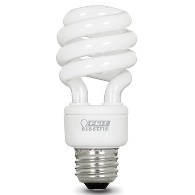 13W Fluorescent Light Bulb Pack of 4