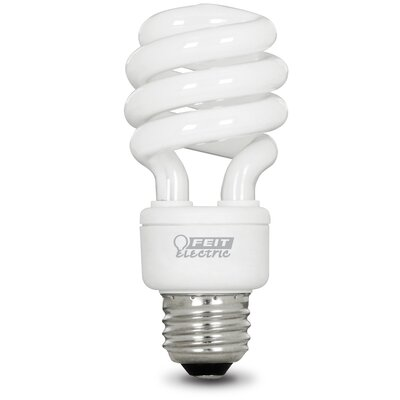 13W E26 Fluorescent Light Bulb Pack of 12