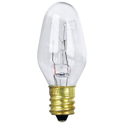 120-Volt Incandescent Light Bulb (Pack of 2) Wattage: 4W