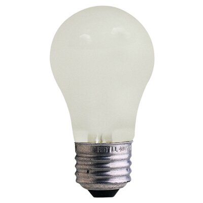 25W Frosted 130-Volt Incandescent Light Bulb (Pack of 4)