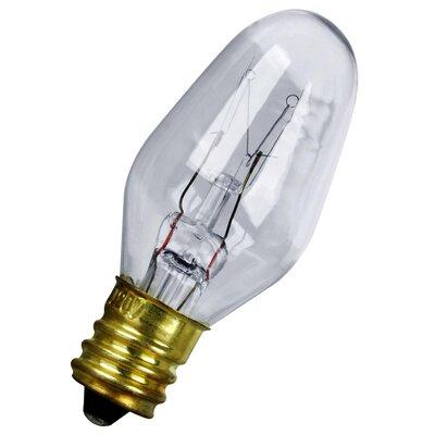 7W 120-Volt Incandescent Light Bulb (Pack of 4)