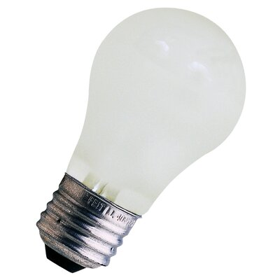 15W Frosted 120-Volt Incandescent Light Bulb