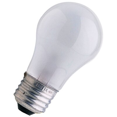 Frosted 120-Volt Incandescent Light Bulb Wattage: 25W