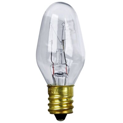 4W 120-Volt Incandescent Light Bulb (Pack of 4)