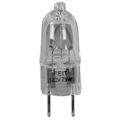 120-Volt Halogen Light Bulb Wattage: 75W