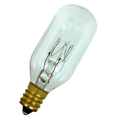25W 120-Volt Incandescent Light Bulb Bulb Type: Candelabra