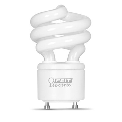 Frosted GU24 Compact Fluorescent Light Bulb Bulb Temperature: 4100K