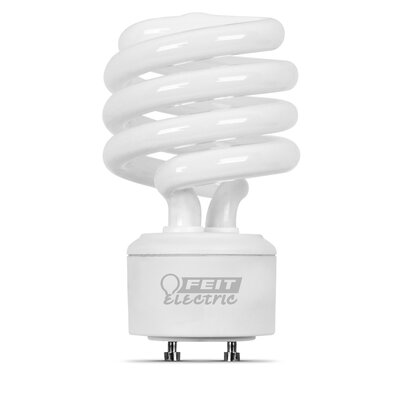 Frosted GU24 Compact Fluorescent Light Bulb Wattage: 23W