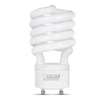 Frosted GU24 Compact Fluorescent Light Bulb Wattage: 27W