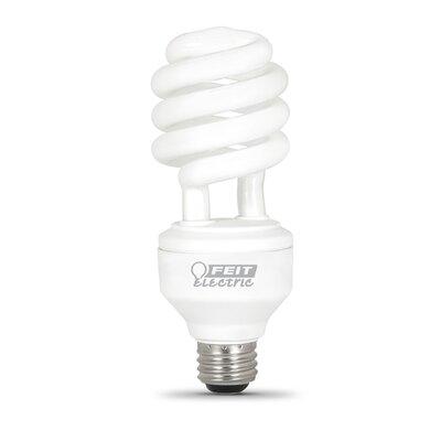 Frosted E26/Medium Compact Fluorescent Light Bulb Bulb Temperature: 6500K
